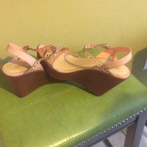 Wedge heels sandals